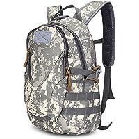 Preisvergleich für Zhuhaimei,Outdoor Wandern Camping Militärische Taktische Rucksack Armee Tasche(Color:ACU Camouflage)