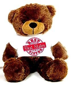 Special Best Sister 2 feet Brown Big T-shirt Teddy Bear