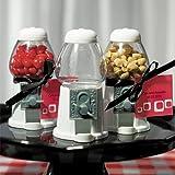 Mini Kaugummiautomat weiß - eine Tolle Idee als Gastgeschenk zur Hochzeit, Taufe oder zum Kindergeburtstag