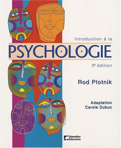 Introduction à la psychologie par Rod Plotnik