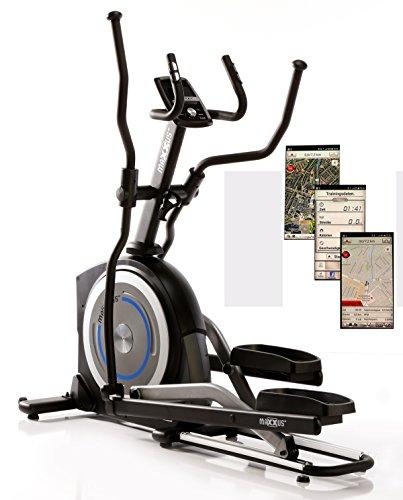 MAXXUS CROSSTRAINER CX 5.1 - Ellipsentrainer und kostenlosem Versand. Elliptischer Bewegungsablauf, Trainingsprogramme, HRC-Programme, Watt-Programm, Transportrollen, elektr. gesteuerte Magnetbremse, Smartphone-Tablet-Halterung, ergonomische Laufbewegung.
