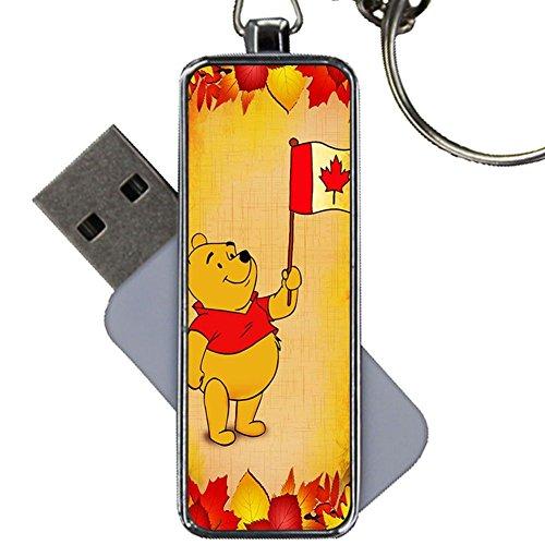 Metallo Magrezza Per Bambino Utilizzare Per Usb Disk Capacity 8Gb Avere Canadian Flag