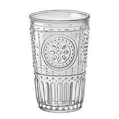 Idea Regalo - Bormioli Rocco Romantic Confezione 6 Bicchieri 32,5 cl, Vetro, Trasparente, 8 x 8 x 12.5 cm