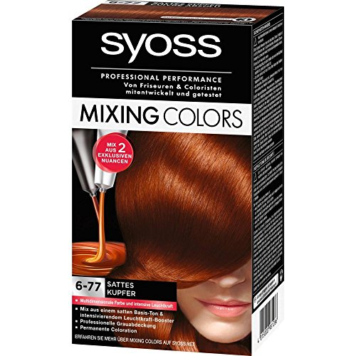 Syoss Mixing Colors - sattes Kupfer