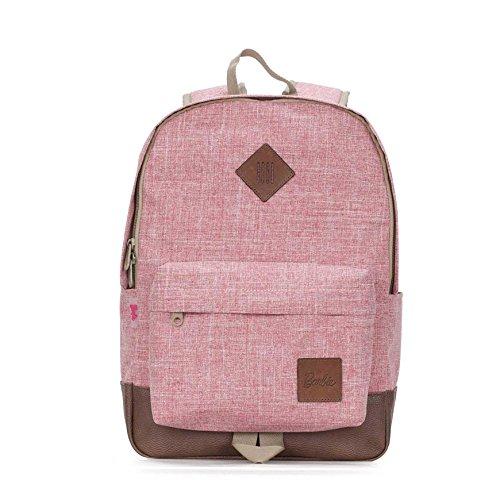 Barbie Zaino da Viaggio da Scuola dalla serie di Sobborgo da Donna Ragazza Colore Rosa Grigio Viola Nero #BBBP156 Rosa