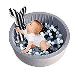 Parc d'enfant, boule de balle ronde pour enfants, éponge en mousse à mémoire de...