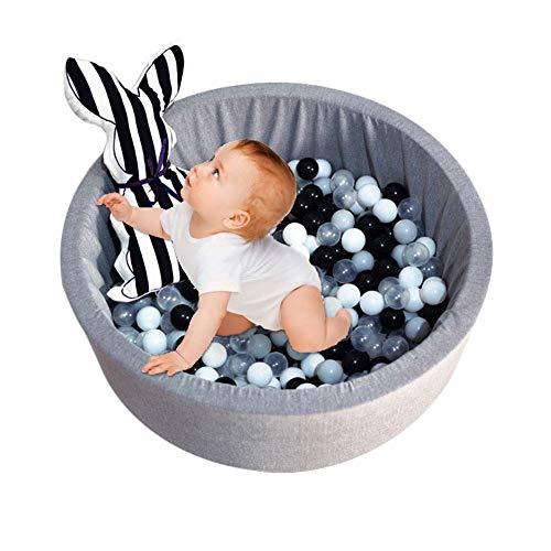 Xuanyang Piscina de Bolas para niños para niños, Pelotas de Espuma para Juegos Infantiles para Seguridad Juguetes para niños Juegos de Bolas para Bolas Redondas (sin Bolas)