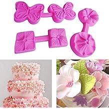 Christmas Cake Mold, xinxinyu flor forma fondant cake molde de silicona cocina Hornear Chocolate Fondant