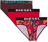 Diesel 00SH05 Ropa Interior, Rojo(Red02), Large (Tamaño del Fabricante:L) para Hombre
