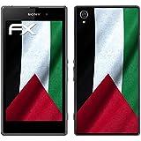"Sony Xperia Z1 Designfolie ""Palästina Flagge"" Skin Aufkleber für Xperia Z1"