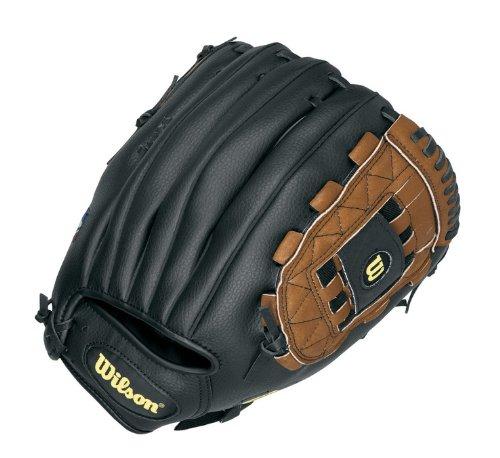 Wilson A0362 Baseballhandschuh, für Linkshänder, Baseball, Handschuh) Braun braun 30,5 cm