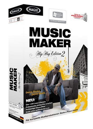 MAGIX Music Maker Hip Hop Edition 2