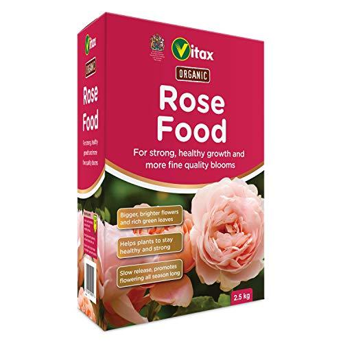 Vitax Ltd Rose Food - Suplemento nutritivo orgánico para rosas