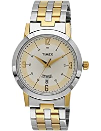 Timex Classics Analog Silver Dial Men's Watch-TW000T120