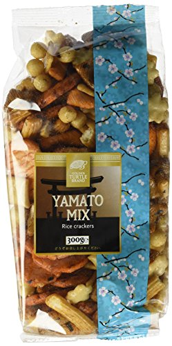 Preisvergleich Produktbild Golden Turtle Yamato Reiscracker-Mix,  10er Pack (10 x 300 g)