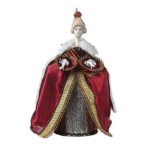 danila-souvenirs Handgemachte Porzellan Puppe im Kleid der russischen -