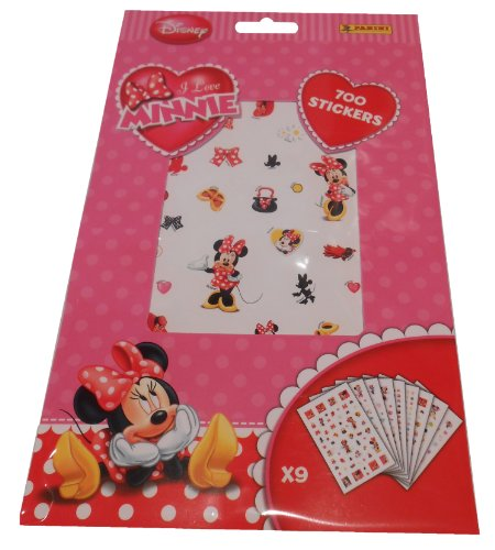 Panini - Carnet 700 stickers Minnie