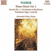 Weber: Piano Music, Vol. 1