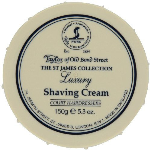 TAYLOR OF OLD BOND STREET Rasiercreme St. James Collection, 150 g -