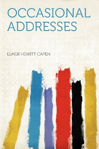 Occasional Addresses
