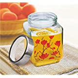 [Sponsored Products]Glass Cube Jar Set , Set OF 3 PCs, 310 Ml