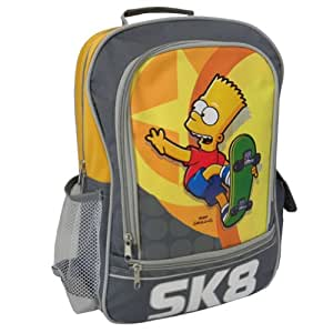 Bart Simpsons skateboarder backpack