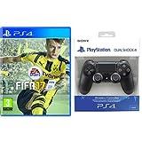 FIFA 17 + Dualshock 4 Controller Wireless Black V2 - PlayStation 4