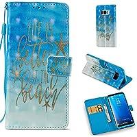 Preisvergleich für Samsung Galaxy S8 Plus Stand Hülle Etui with Leder Wallet Klapphülle,Schutzhülle für Samsung S8 Plus Leder Wallet...