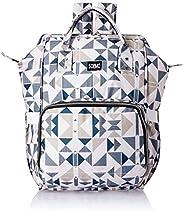 Amazon Brand - Solimo Diaper Backpack, Geometric Print