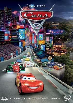 Disney Cars 2 - Movie Wall Art Poster Print - 43cm x 61cm / 17 Inches x 24 Inches A2 Lightning McQueen (Poster Movie 2 Cars)