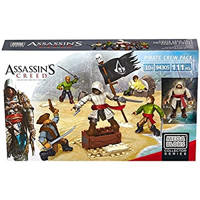 MEGA BLOKS - Mega Bloks Assassin's Creed l'équipage de pirates