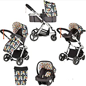 Cosatto Giggle Mix Pram and Pushchair in Nordik with Hold Car seat & Raincover   10