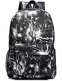 Backpack Mochilas Escolares Galaxia Mochila bolsa de Universidad y Escuela Daypack para Niños y Niñas Adolescentes Fuera Camping Picnic Deporte