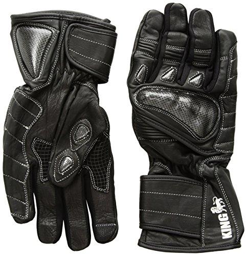 Schützen die King Nomad Premium Leder Gauntlet Sport Biker Motorrad Handschuhe - xxxl Gauntlet Handschuhe Motorrad