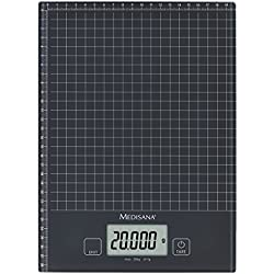 Medisana 40468 KS 240 Bilancia Digitale di Vetro da Cucina XL