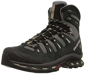 Salomon Quest 4D 2 GTX Hiking Shoes, Men's UK 8 (Detroit/Black/Navajo)