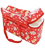 Wonderkids Red Diaper Bag With Bottle Wa...