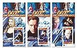 James Bond 007 Die un'altra collezione di francobolli giornata con 3 fogli di menta dotate di Halle Berry, Miranda Frost, Gustav Graves e Judi Dench - Stampbank - amazon.it