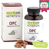 OPC Traubenkernextrakt ● 600 mg pro Kapsel ● zertifiziert ● hochdosiert ● premium Qualität ● vegan ● 3...