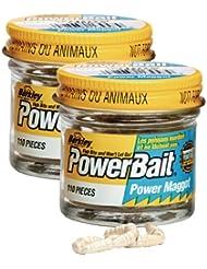 Berkley Powerbait - Imitación de asticot blanco blanco Talla:110 grams