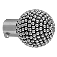 These lavish Curtain Knobs from the collection of SHAVIN will give a royal treatment to your window display. They are also known as curtain brackets / curtain Finials in India.These are made of premium quality stainless steel and alloy. They are craf...