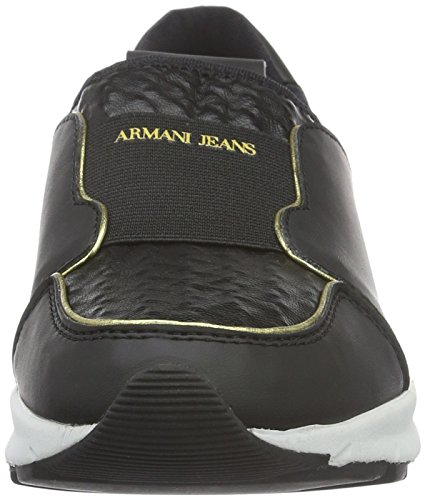 Armani Jeans 9250886a480 Damen Laufschuhe Schwarz (NERO 00020)