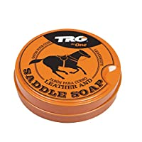 TRG GRISON LEATHER SADDLE SOAP CLEANER UPHOLSTARY SOFAS BOOTS SHOES 100ML