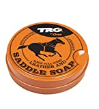 TRG GRISON LEATHER SADDLE SOAP CLEANER UPHOLSTARY SOFAS BOOTS SHOES 100ML by TRG One