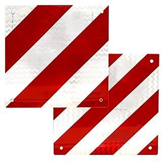 Laden Warnschild reflektierend für Spanien und Italien 50x 50Zentimeter Rot Weiß