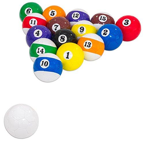 Fußball-billard-kugeln (Betzold 34382Fußball Billard Set)