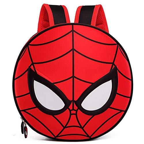 xiaoming Sac à Dos Scolaire pour Enfants Sac à Dos Spider-Man pour Garçons Et Filles Sacs D'École,Spiderman(Black)-28 * 28 * 6cm