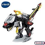 VTech - Rotor, Le Méga Vélociraptor Switch & Go Dinos, Voiture/Dinosaure, jouet dinosaure enfant