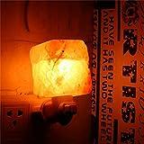 Salz Lampe, Elfeland ® Mini Salzkristall Lampe von Himalaja Nachtlicht Stimmungslicht