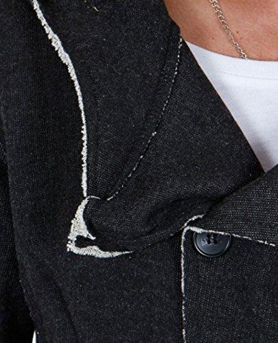 Red Bridge Homme Cardigan Six Buttons Noir
